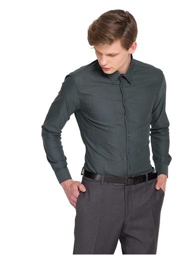 Cacharel Klasik Gömlek Yeşil
